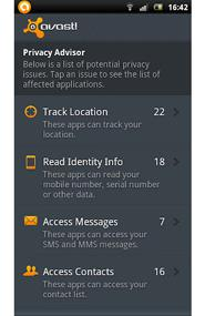 avast anti theft android commands