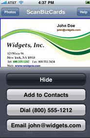 The Daily App Scanbizcards For Android Iphone Ipad