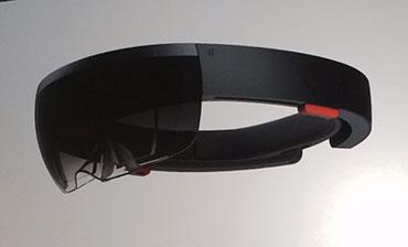 Microsoft Lifts Curtain On HoloLens Headset During Windows