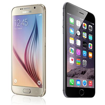 Head To Head: Samsung Galaxy S6 Vs. iPhone 6