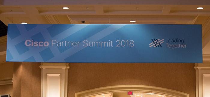 Cisco Partner Summit 2018