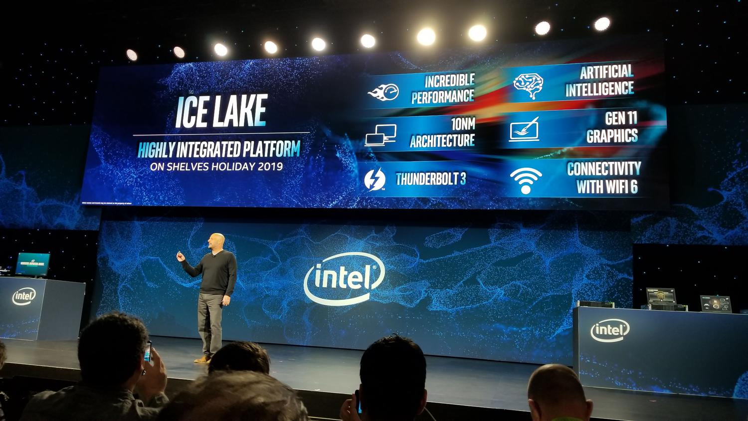Intel Reveals Long-Awaited Ice Lake 10nm CPUs At CES 2019