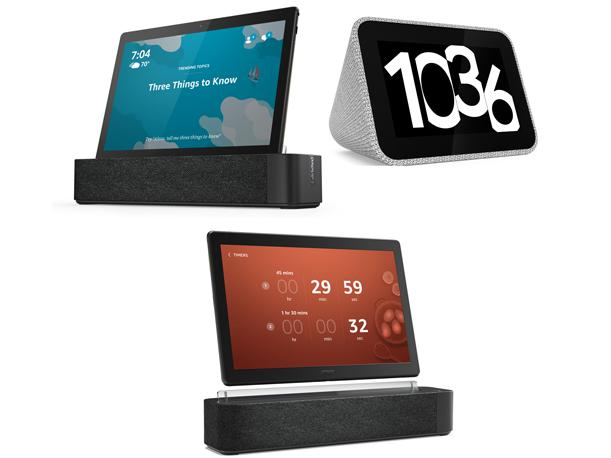 Ces 2019 Lenovo Launches 3 Smart Devices With Alexa And Google