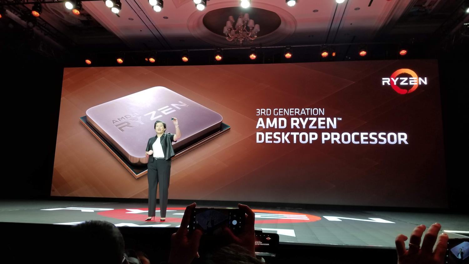 AMD Unveils Third-Gen Ryzen CPUs, Available Mid