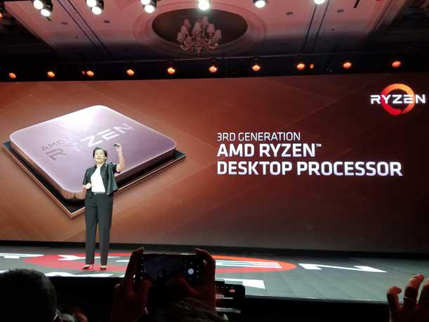 AMD: 7nm Ryzen's CES Debut Just The Start Of New Fight