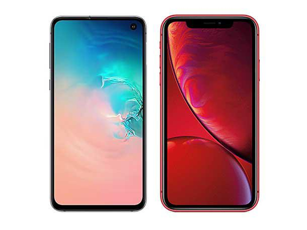 Head-To-Head: Samsung Galaxy S10e vs. Apple iPhone XR