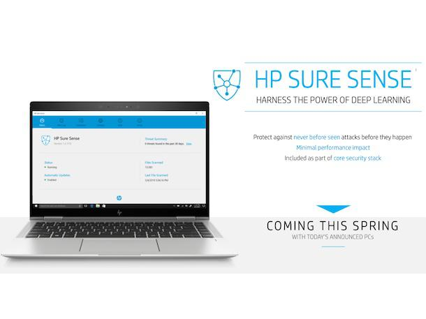 HP Announces First Notebooks With Sure Sense Malware Protection