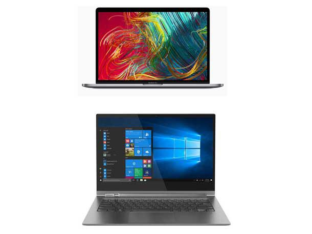 Head-To-Head: Apple MacBook Pro 2019 Vs  Lenovo Yoga C930