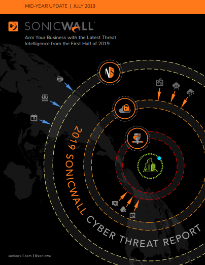 2019 SonicWall Cyber Threat Mid-Year Report