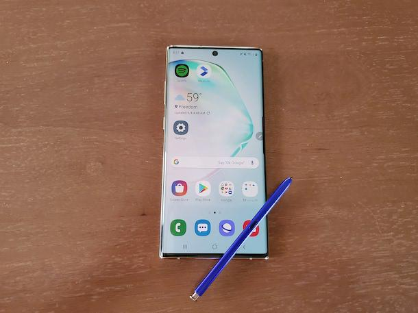 Review: Samsung's Galaxy Note 10 Plus Is Packed With Work