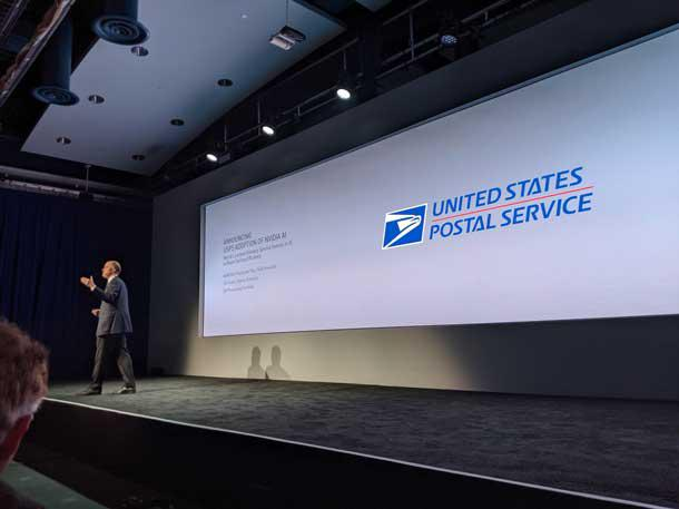U.S. Postal Service to use Nvidia's AI tech