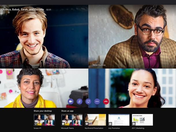 Microsoft Says Teams Video Calls Surging In Challenge To Zoom